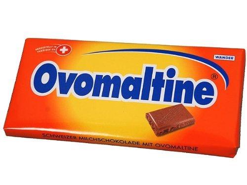 Ovaltine Chocolate Bars