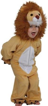 BOLAND Disfraz de león de peluche Lion Toon - 128 cm - 5/7 años ...