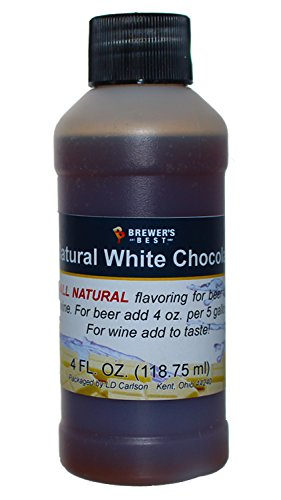 (Brewer's Best Natural Beer and Wine Fruit Flavoring (White Chocolate))