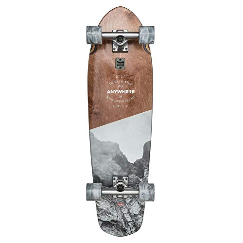 Cheap Complete Longboards - GLOBE Skateboards Big Blazer Longboard Skateboard Complete, Anywhere, 32