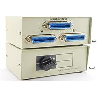 Centronics 36 (CN36) Female, AB 2 Way Switch Box