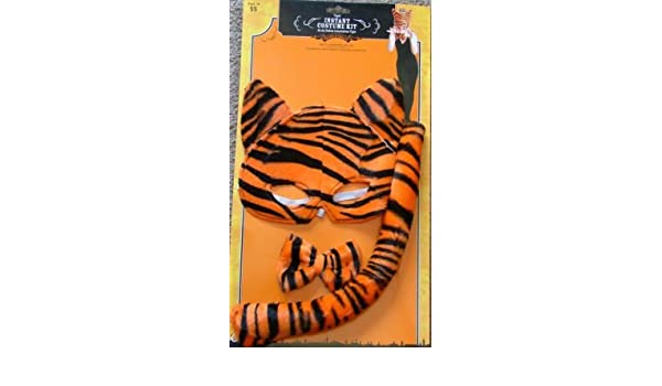 Amazon.com: Tiger Instant Costume Kit - Kit de Disfraz Instantaneo Tigre by Tricks & Treats: Toys & Games