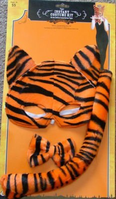 Tiger Instant Costume Kit - Kit de Disfraz Instantaneo Tigre by Tricks & Treats