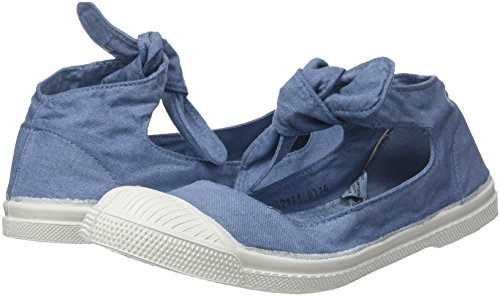 Bleu denim Femme Flo Baskets Bensimon Tennis q4aAw1