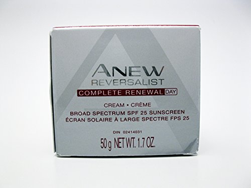 Anew Reversalist Complete Renewal Day Cream with SPF 25 - Pack In Womens Avon