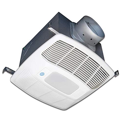 Air King EF80DGH 80 CFM 0.3 Sone Ceiling Mounted Lighted Motion and Humidity Sensing Bath Fan with Dual Boost Blower