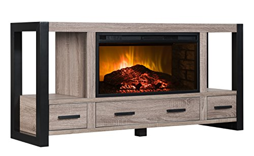 Log Corner Tv Shelf (BoldFlame Salictus 54