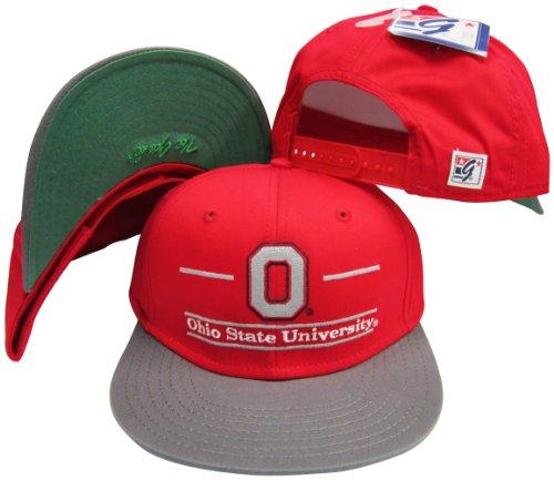 Classic Hat Ohio - Ohio State Buckeyes Classic Split Bar Snapback Adjustable Snap Back Hat/Cap