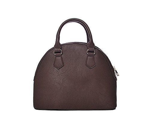 Intrigue, Borsa bowling donna marrone Brown