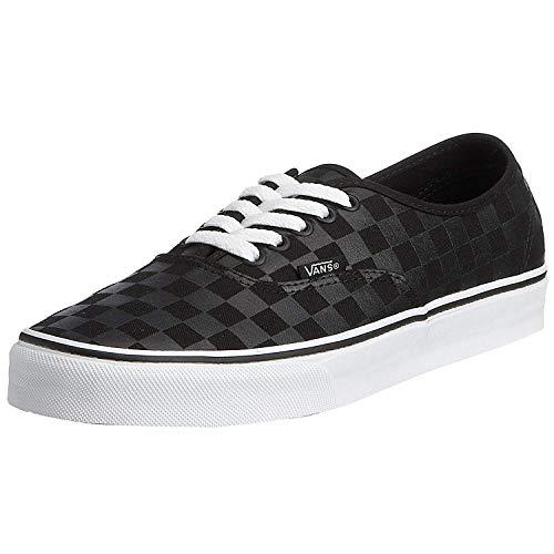 - Vans Authentic (Men/US 8 - Women/US 9.5, Black_Black_Checkerboard)
