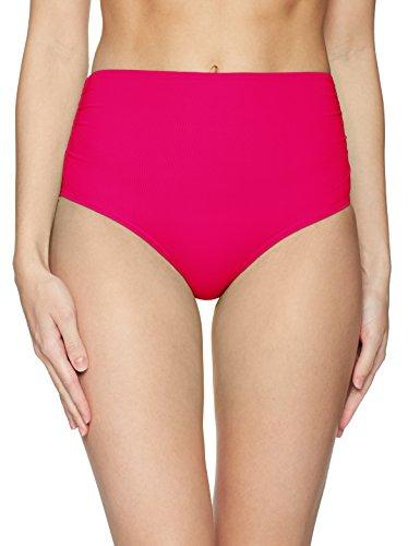 Bottoms Berry - Anne Cole Women's Convertible High Waist Bikini Swim Bottom, Berry, M