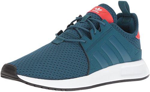 adidas Originals Unisex X_PLR J Running Shoe, Petrol Night Fabric, FTWR White, 3.5 M US Big Kid
