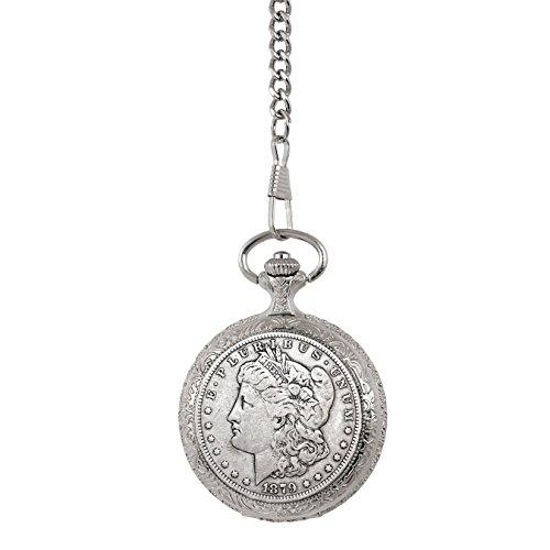 Dollar Watch Pocket (1800's Morgan Silver Dollar Pocket Watch)