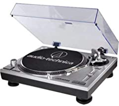 """Audio-Technica's AT-LP120-USB direct-drive, high-torque professional turntable is perfect for DJs and other music enthusiasts, especially in an era that many would call """"postvinyl,"""" when it's no longer the norm for audio/video receivers or ev..."""
