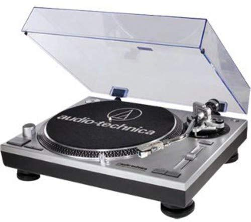 - Audio-Technica AT-LP120-USB Direct-Drive Professional Turntable (USB & Analog), Silver