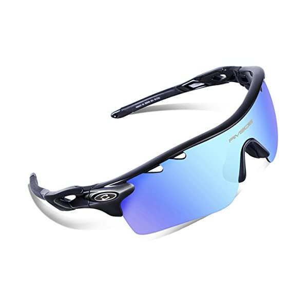 1b9bf1f7adb ... RIVBOS 801 Polarized Sports Sunglasses Sun Glasses with 5  Interchangeable Lenses for Men Women Baseball Cycling Runing. Sale! 🔍. On  Sale