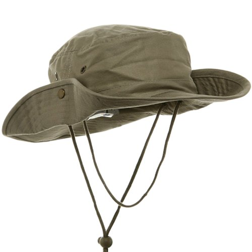 Fishing Hat (01)-Khaki (M) W11S35E ()