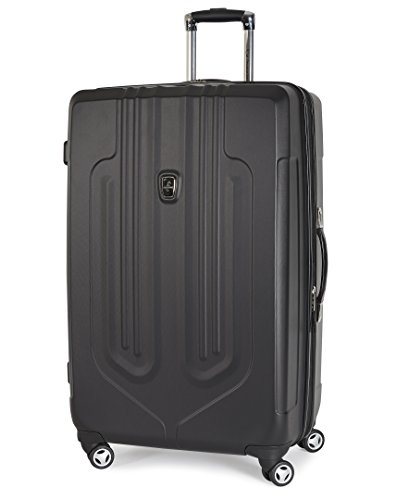 "Atlantic Luggage Ultra Lite 29"" Exp Hardside Spinner, Black"