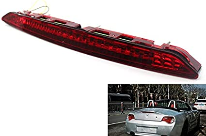 Moligh doll Fit for 2002-2008 E85 Z4 Third Brake Stop Light Red Color Lamp 63256917378