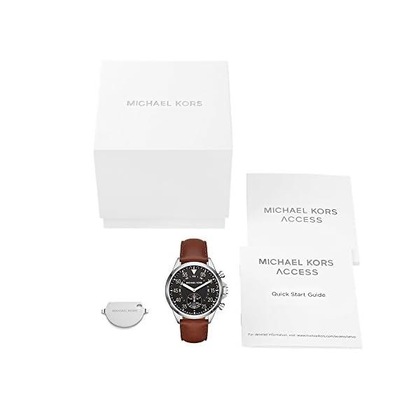 Michael-Kors-Access-Hybrid-Brown-Gage-Smartwatch-MKT4001
