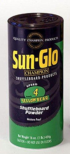 Sun-Glo #4 Speed Shuffleboard Powder Wax 16 oz