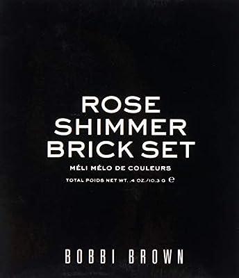 Bobbi Brown Rose Shimmer Brick Set, Limited Edition, 1 Count