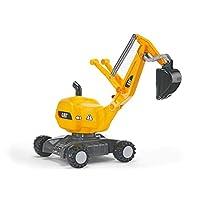 juguetes de rolly CAT Construction Ride-On: Excavadora de 360 grados /excavadora de pala, edad juvenil 3+