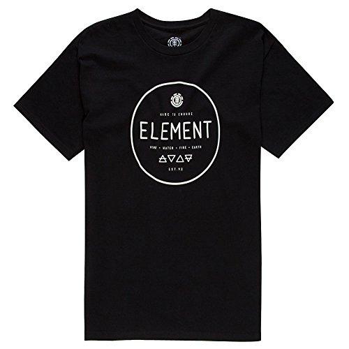 Element Men's Alchemist SS, Black L (Shirt Element Black)
