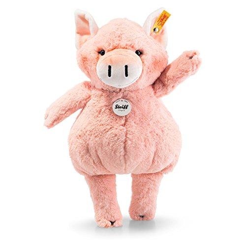 Steiff Happy Farm - Piggilee Pig, Pink (Mohair Pig)