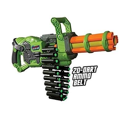 Cool Nerf Dart type Custom Mod semi auto mini gun - dual twin Buzz Bee  Ultimate