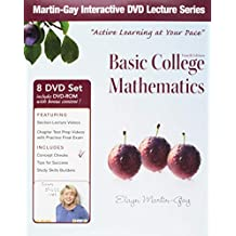 Interactive DVD Lecture Series for Basic College Mathematics
