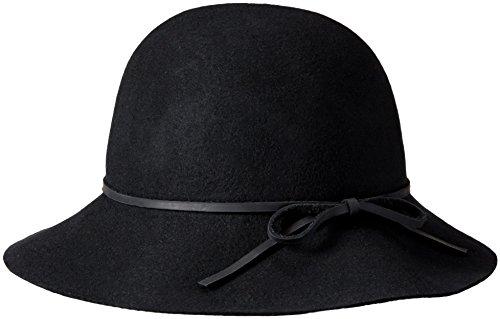 Goorin Women Accessories Hats (Goorin Bros. Women's Mrs. Blanc Wool Felt Cloche Hat, Black,)