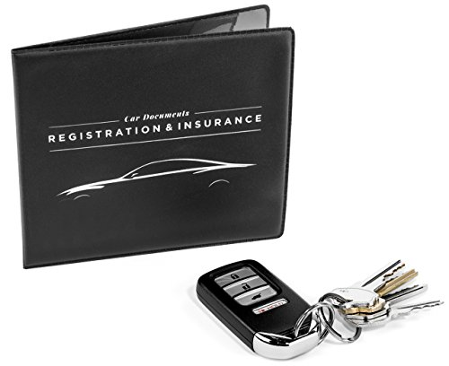 CAR-DOCUMENTS-HOLDER-CASE-for-Insurance-DMV-Registration-AAA-Auto-Club-for-Car-Truck-SUV-Motorcycle-velcro-closure-safely-store-important-documents-in-glove-box-or-visor-flap-Stress-reducing