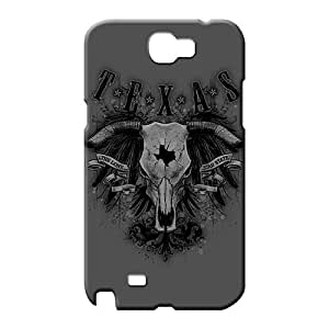 samsung note 2 Attractive Anti-scratch Awesome Phone Cases phone covers texas longhorn skull