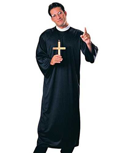 [Sunset Intimates Father Confessor Costume, One Size] (Confessor Costume)