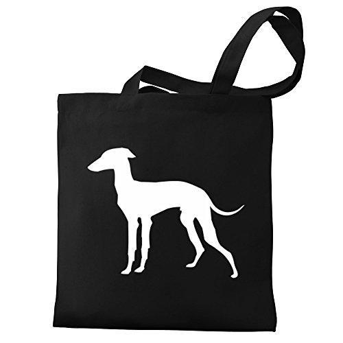 Eddany Italian Greyhound Eddany silhouette Canvas Greyhound Bag Italian Tote q5qTwr