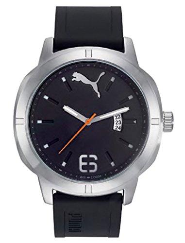 Puma Nevermind Men Black Plastic watch-PU104261004