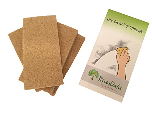 Dry Cleaning Soot Eraser Sponge - (4-Pack) for Smoke, Soot, Dust and Dirt Removal