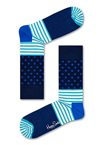 Happy Socks Stripes & Dots Sock Blue 41-46