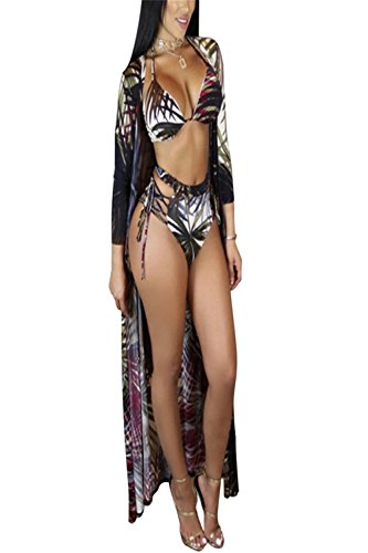 5f9ddfdfeaa Women's Sexy Colorful One-Piece or Two-Piece Bikini Swimsuits Underwear  with Cover up