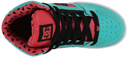 DC Shoes niños de rebote Se G high-top sandía