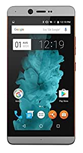 Smartron T5511 VOLTE ( 4GB RAM Model with 5.5-inch 1080p display, Octa-Core, 64 GB ROM (Reliance Jio 4G Sim Support) 64 GB Internal Memory and 13 Mpix FHd Smartphone in Orange