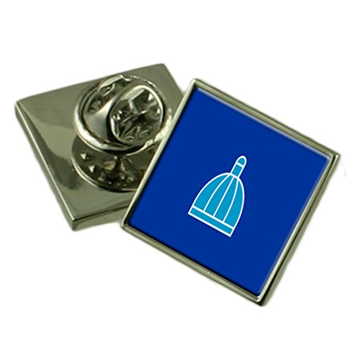 Durban City South Africa Flag Lapel Pin Engraved Box by Select Gifts