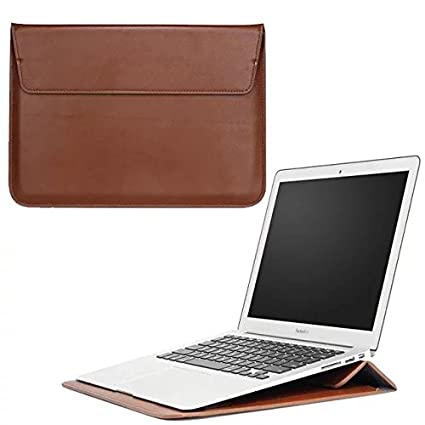 bf0e1618831 Faux Leather Breifcase Stand Carrying sleeve for Microsoft Surface Pro 4 /  Acer Aspire / Chromebook / HP Spectre X360 / Pavilion x360 / ProBook / Pro  x2 ...