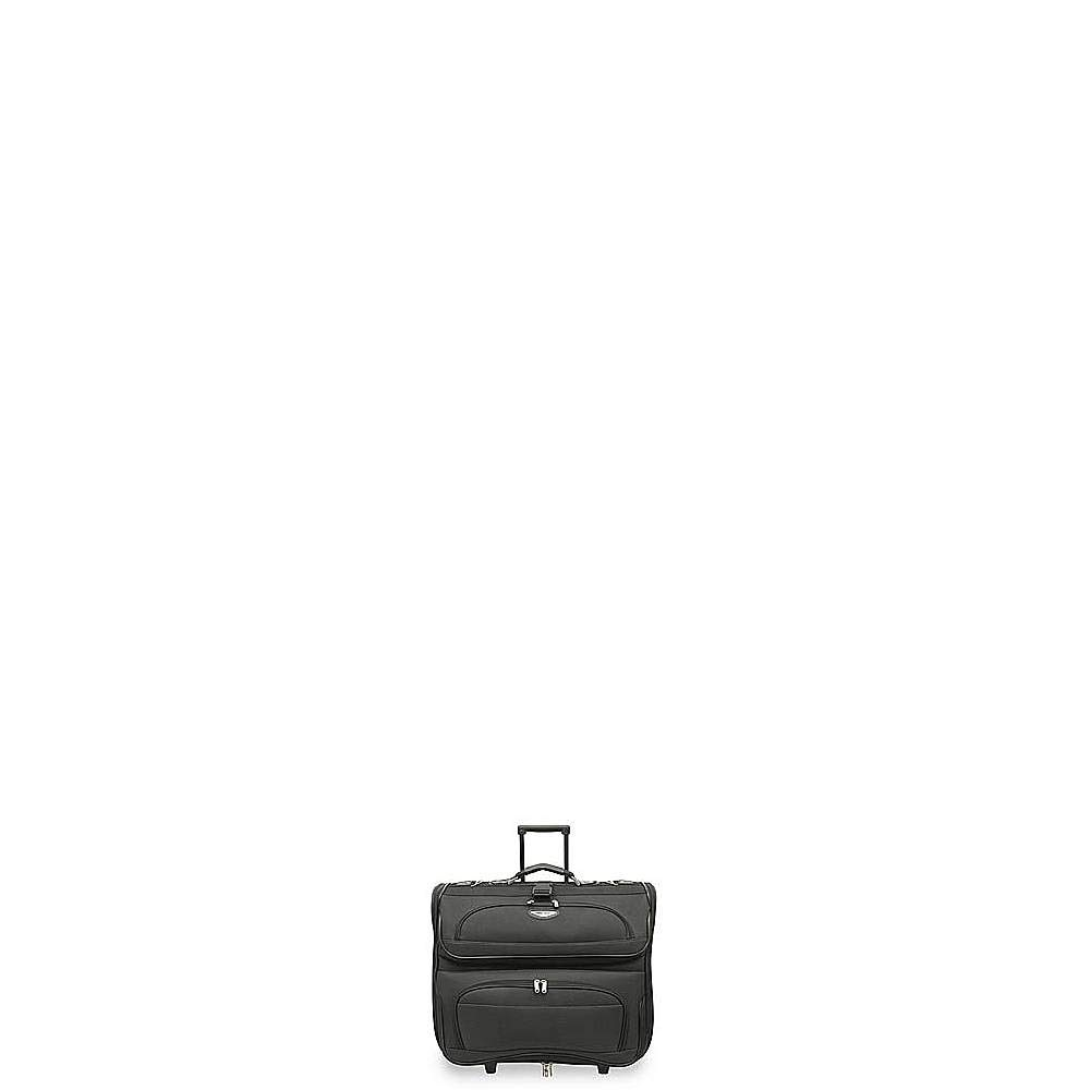 Travel Select Amsterdam Rolling Garment Bag Wheeled Luggage Case, Grey (23-Inch)