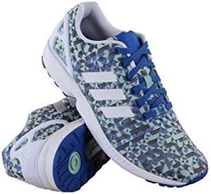 new style 79e3d 9ea20 adidas B34474 Men ZX Flux Weave Blue/White/Black: ADIDAS ...