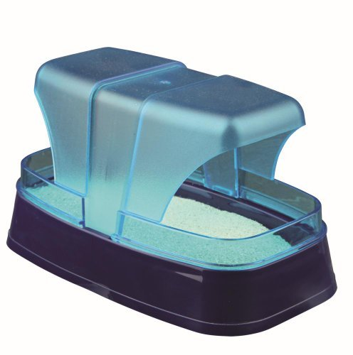 (Trixie Sand Bath For Hamster And Mice, 17 x 10 x 10 Cm, Dark Blue/turquoise)