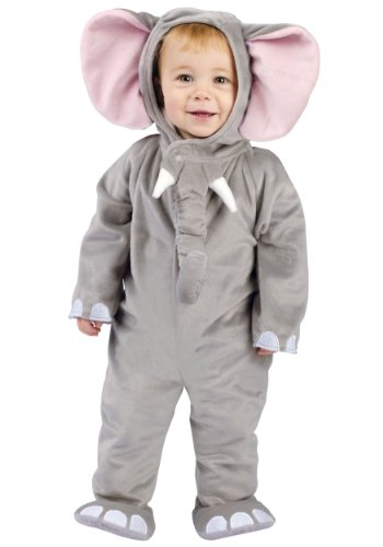 Halloween Costumes Elephant (Cuddly Elephant Infant Costume,)