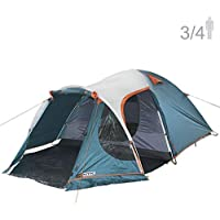 NTK INDY GT 3 to 4 Person 12 by 7 Foot Outdoor Dome...