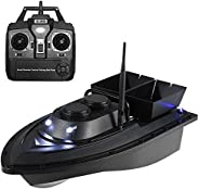 Smart Fishing Bait Boat Wireless Remote Control Fishing Feeder Toy RC Fishing Boat for Adults Beginners Daerzy